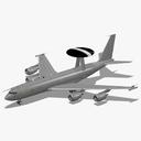 boeing 707-300 3D models