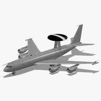 3d model e-3d sentry aew1 royal