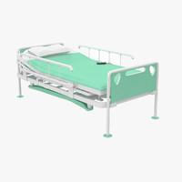 hospita bed z2 3d model