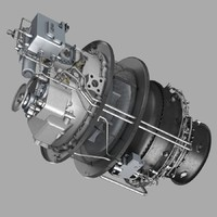 3d turboshaft engine vk-800v
