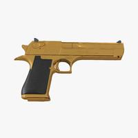 pistol imi desert eagle 3d 3ds