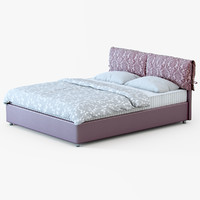 bed marsel 3d max