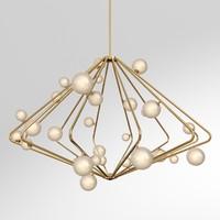 3d model cherry bomb chandelier cb
