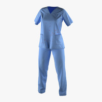 female surgeon dress 17 3d max