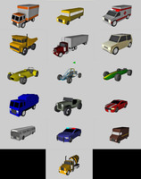 3d car pack games