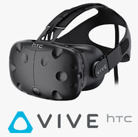 htc vive headset 3d c4d