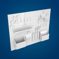 3d model of board memo