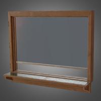 service desk window - 3d model