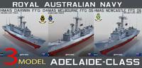 3d royal australian navy adelaide