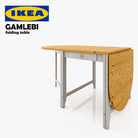 IKEA GAMLEBI - folding table