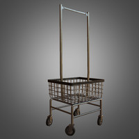 laundromat cart - pbr 3d model