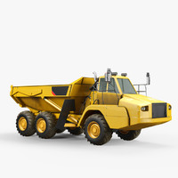 3d model articulated truck