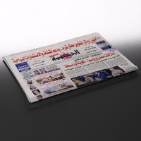 3d egyptian newspaper folds
