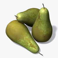3d conference pear model