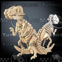 Woodcraft Tirannosaurus