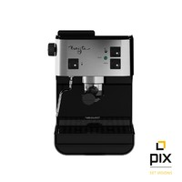 3d realistic starbucks barista coffee machine