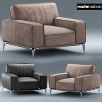 3d model armchair dangle ellica