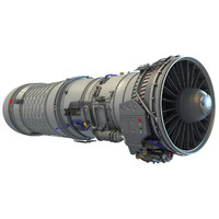 Afterburning Turbofan Engine