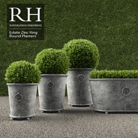 3d realistic planters ring