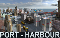 Mega HD Port_Harbour collection