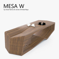 3d model of mesa w coffee table