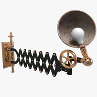 3d model industrial handsconce