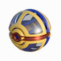 3d spacecraft toy