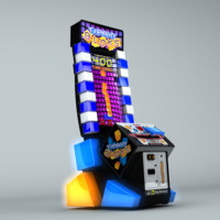tippin video arcade 3d model