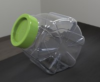 Jar for bulk material