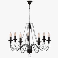 Lamp Hanging Chandelier Castle 10010-7L