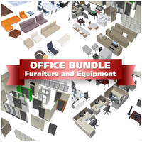 office equipment 3d 3ds