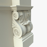 architectural element classical dxf