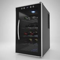3d model wine chiller