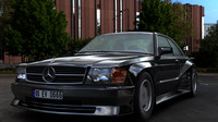 3d car mercedes 500 koenig