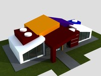 nursery architectural scenes 3d max