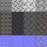 Metal flooring Texture