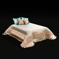 bedclothes bed cloth 3d model