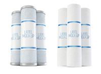 3d water filter mock model