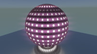 techno sphere fbx free