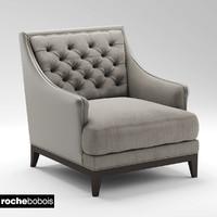armchair fauteuil epoq 3d model