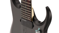 3d model ibanez prestige guitar