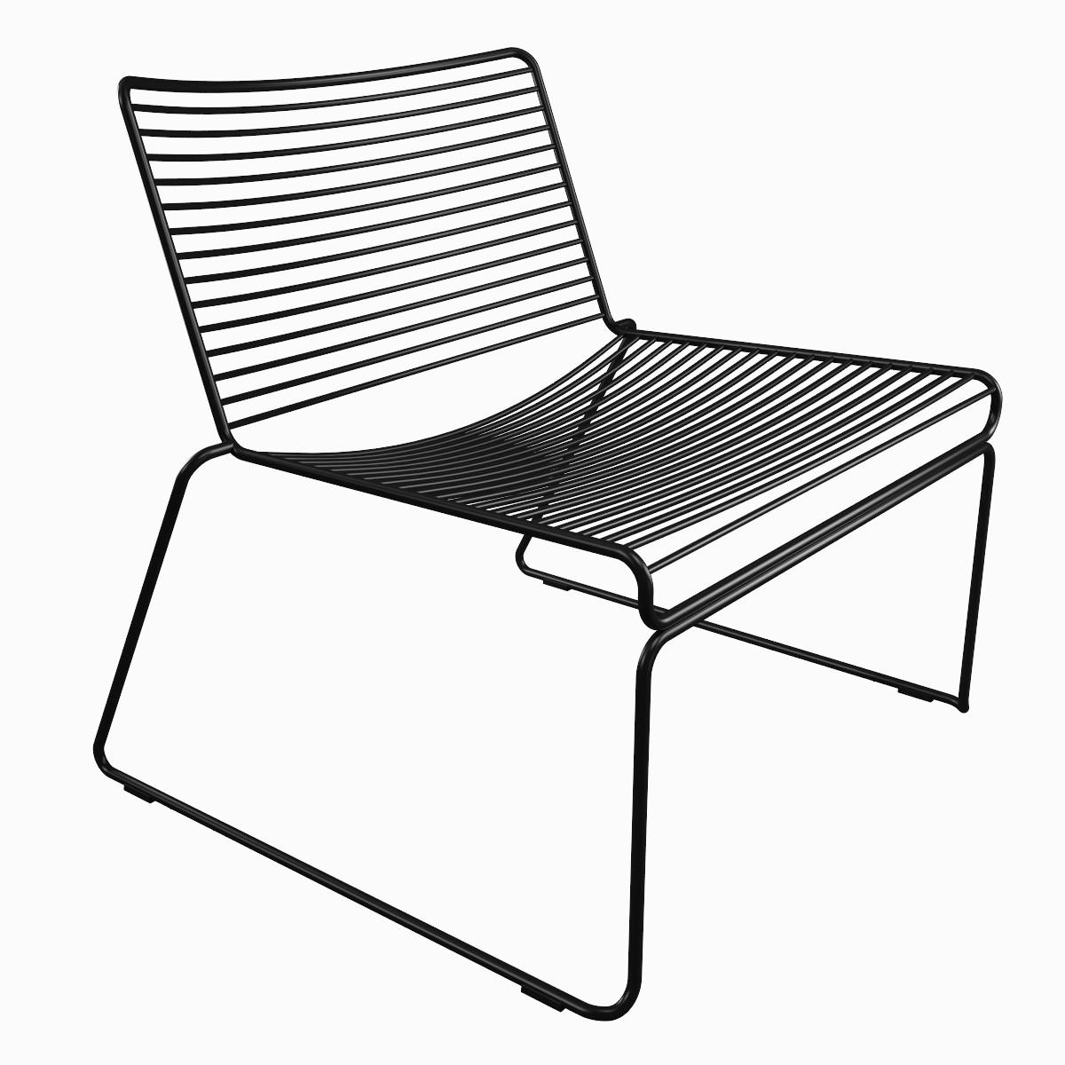 hay hee lounge chair obj. Black Bedroom Furniture Sets. Home Design Ideas