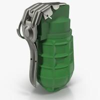 3d model grenade urg-86