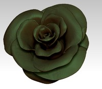 obj solid rose