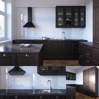 3d max laxarby kitchen