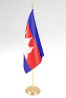 3d flagpole pole model
