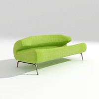 3d model artifort bird sofa design