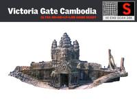 victoria gate cambodia 3d model
