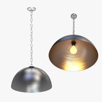 3d model ceiling light 001 -