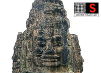 3d model angkor faces 16k